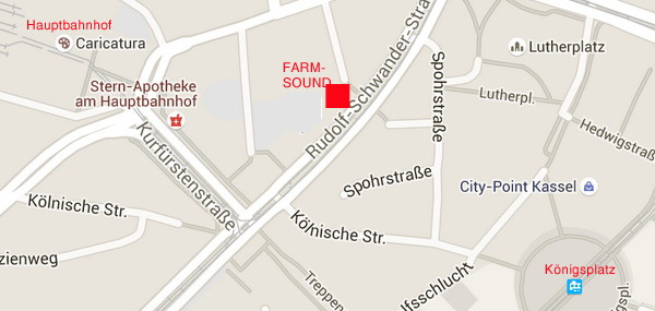 Stadtplan Kassel in Google Maps